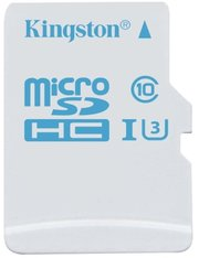 Kingston microSDHC Action Camera UHS-I U3 фото